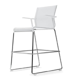 ICF OFFICE-STICK CHAIR STK- Stool